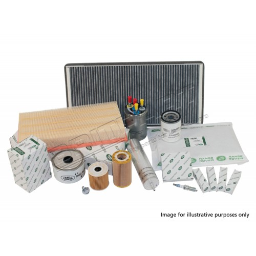 Defender Service Kit Tdci 2007 onwards with Paper Cartridge Oil Filter, Genuine Land Rover