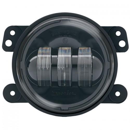 "JW Speaker LED Fog Lights 6145 J 4"" Round Black"