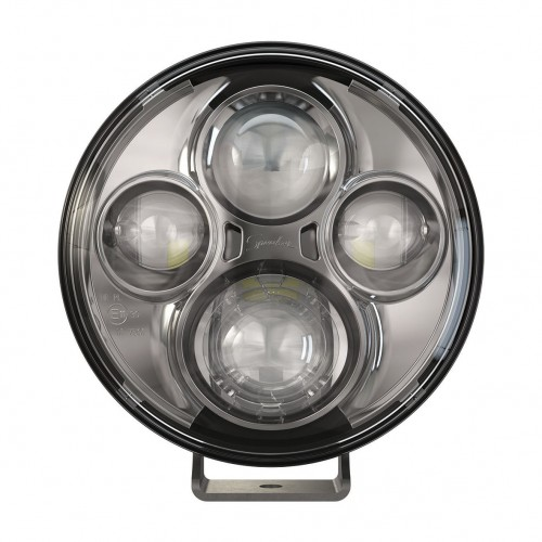 "JW Speaker LED Off Road 7"" Lights TS4000 Chrome"