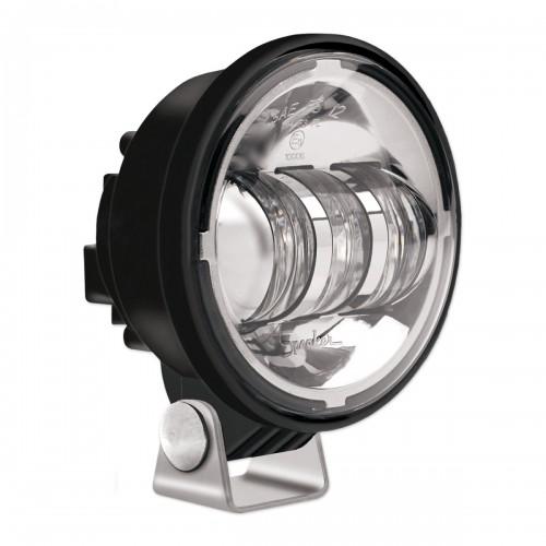 "JW Speaker LED Fog Lights 6150 J 4"" Round Pedestal Mount chrome"