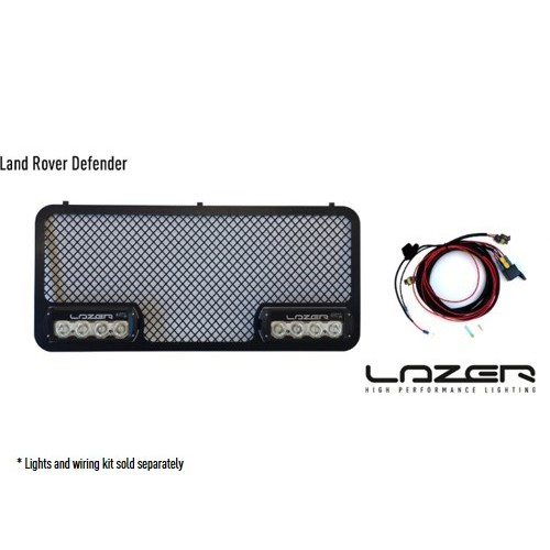 Lazer lamp Defender Grille  Kit Builder
