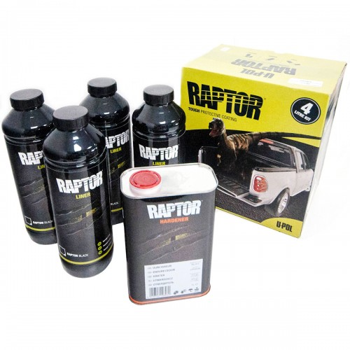 Raptor 4litre Kit in Black