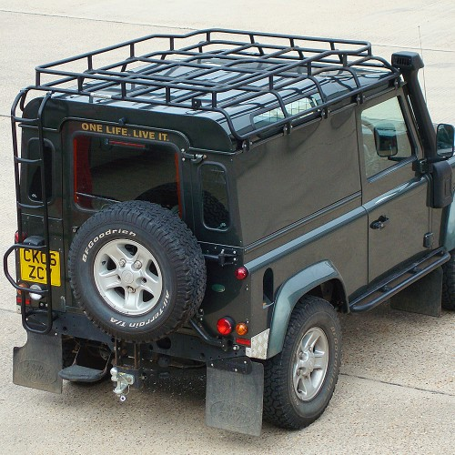 Safety Devices Defender 90 Expedition Roof Rack