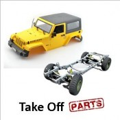 Take Off Body and Chassis Parts for Jeep (0)