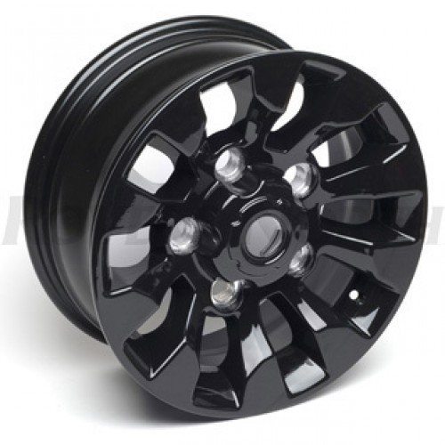 Sawtooth Alloy Wheel - Black 16""