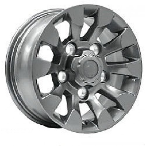 Sawtooth Alloy Wheel - Silver 18""