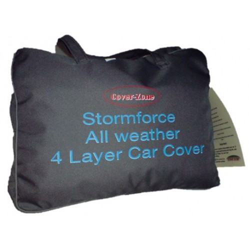 CarCoverZone Defender 110 and Discovery 1-2 Stormforce 4 Ply Cover