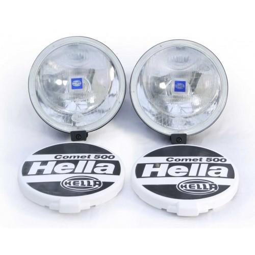 Hella Comet 500 spotlights (pair)