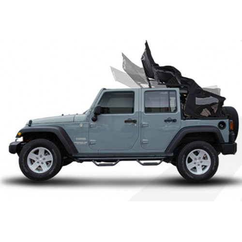 Mytop Jeep Wrangler Electric Hood