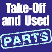 Take-off and used parts (5)