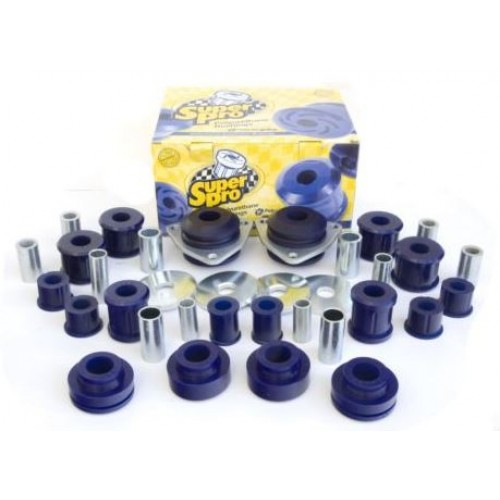 SuperPro Polyurethane F+R Bush Kit Land Rover Defender 2007 Onwards. Radius Arms & Panhard Rod Bushing Kit