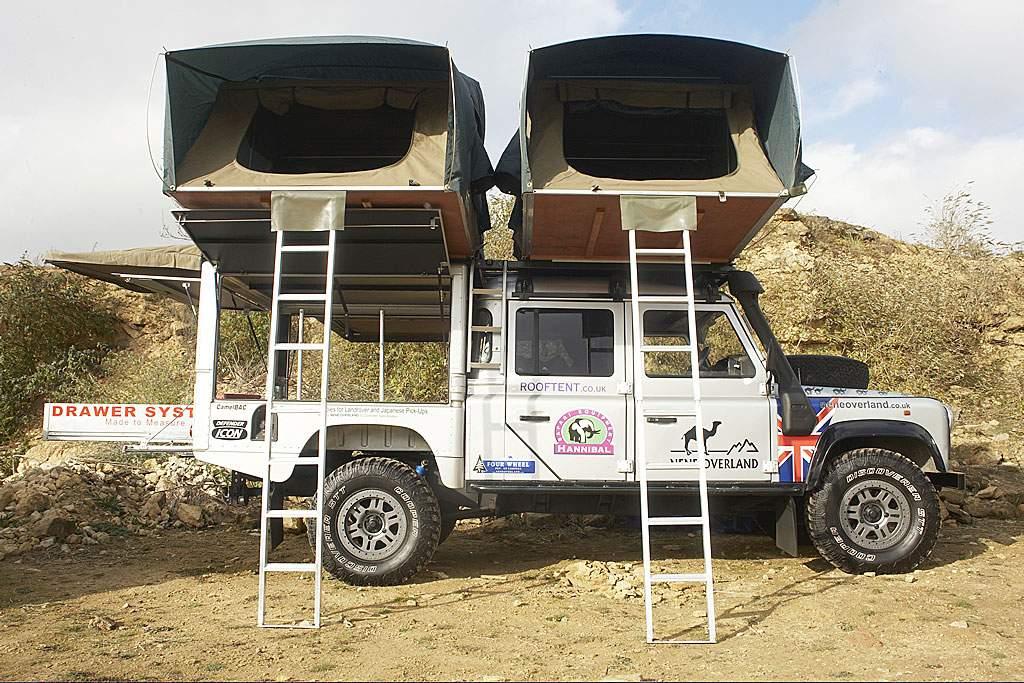 POA & Land Rover Defender 130 Overlander -