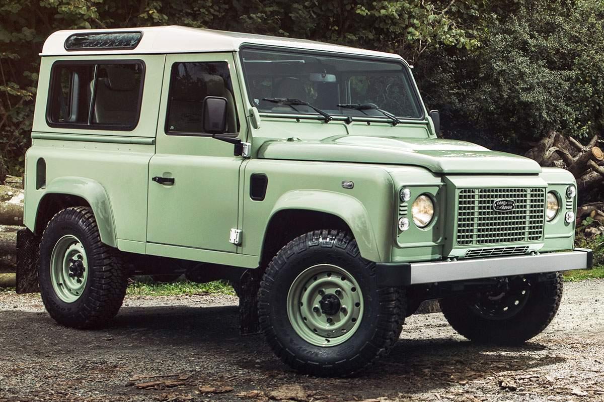 Worksheet. Land Rover Defender HERITAGE 90 Limited Edition