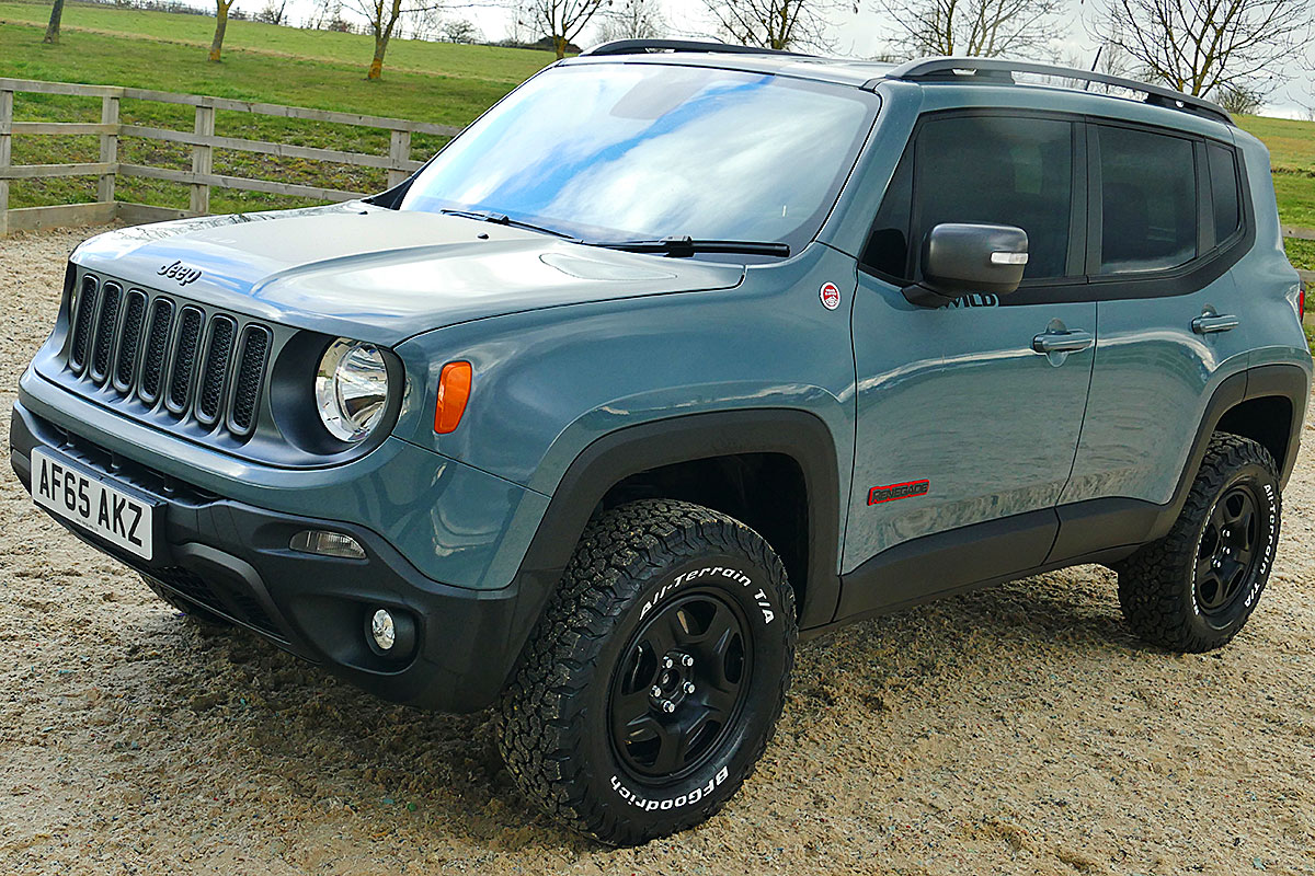 Jeep Renegade Trailhawk Tuning >> Wild Jeep Renegade Trailhawk