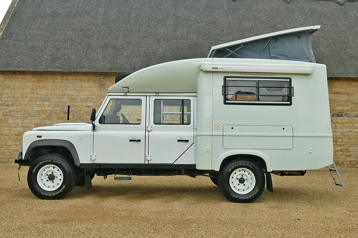 Land Rover Defender 130 Wide Pop-Up Camper -
