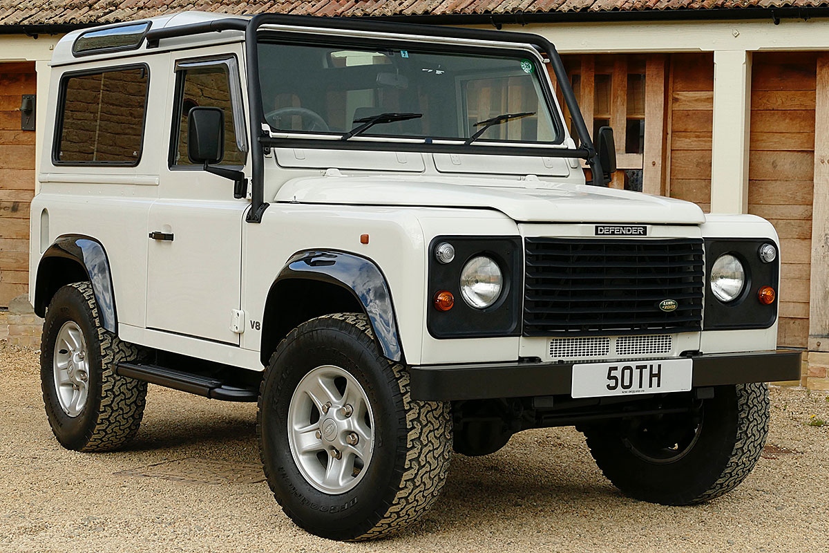 Land Rover Defender 50th Anniversary 4.0 V8 Auto -