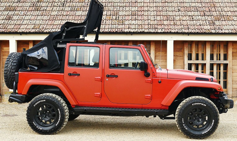 Jeep Wrangler Wild AEV 2.8TDi Auto Electric Soft Top