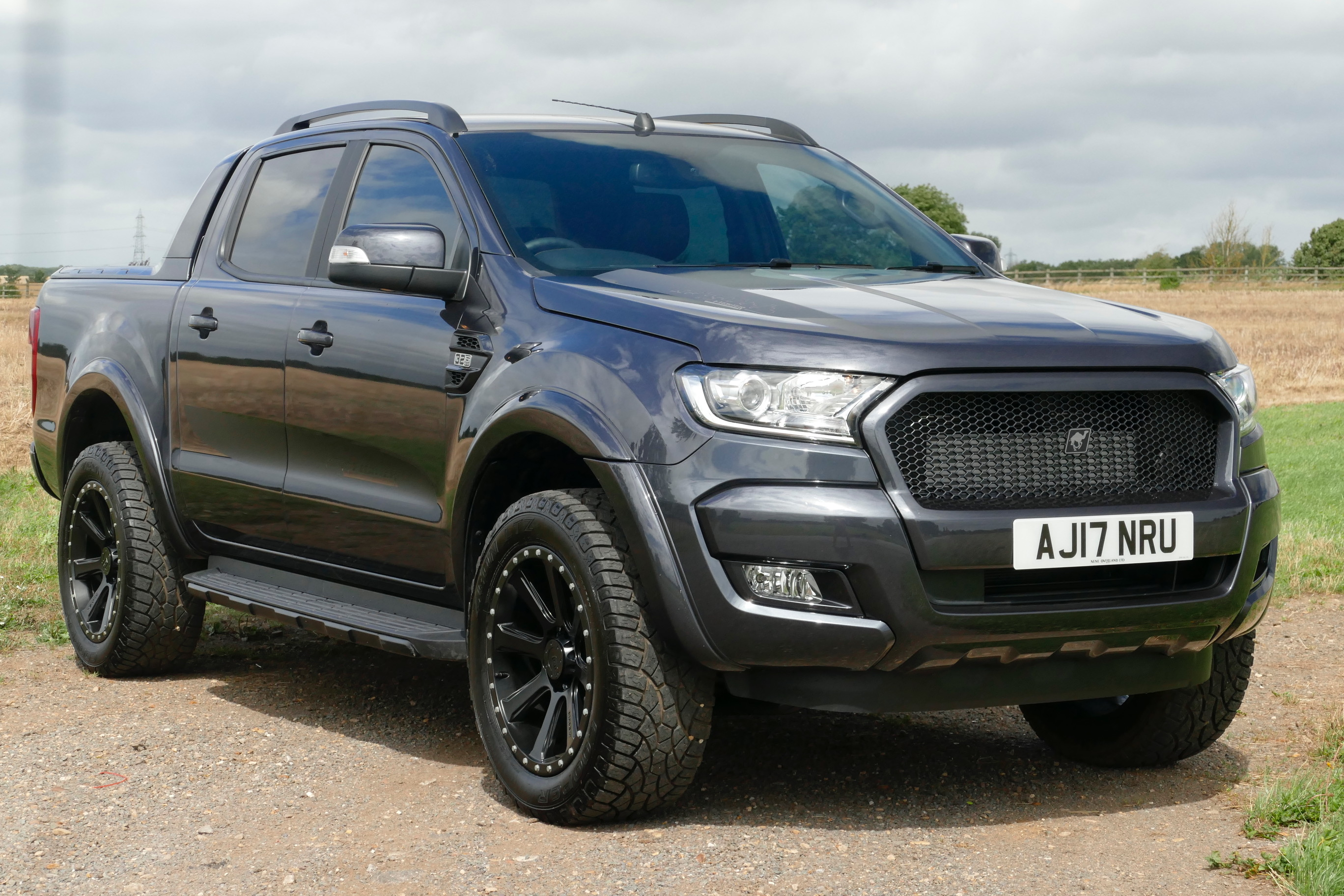 Ford Ranger Wildtrak 3 2 Tdci Automatic Street Fighter