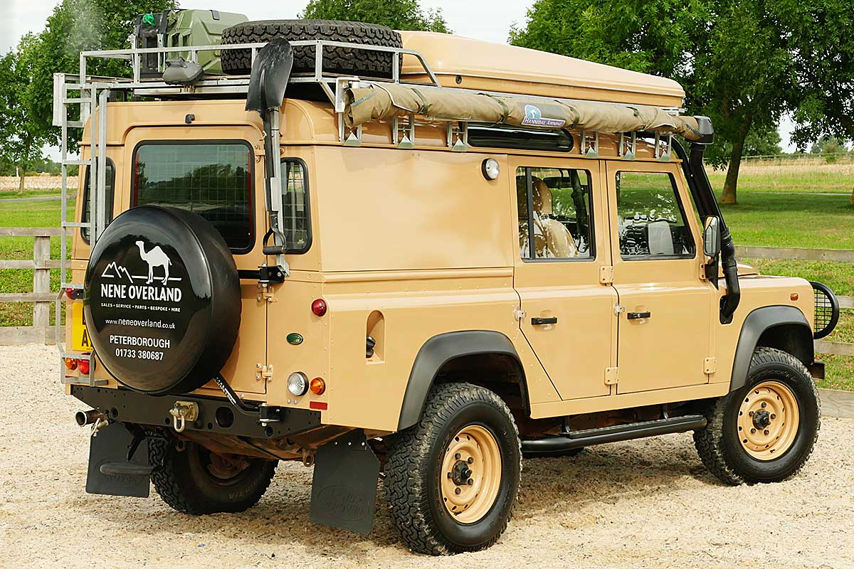 Land Rover Defender 110 Expedition Utility -