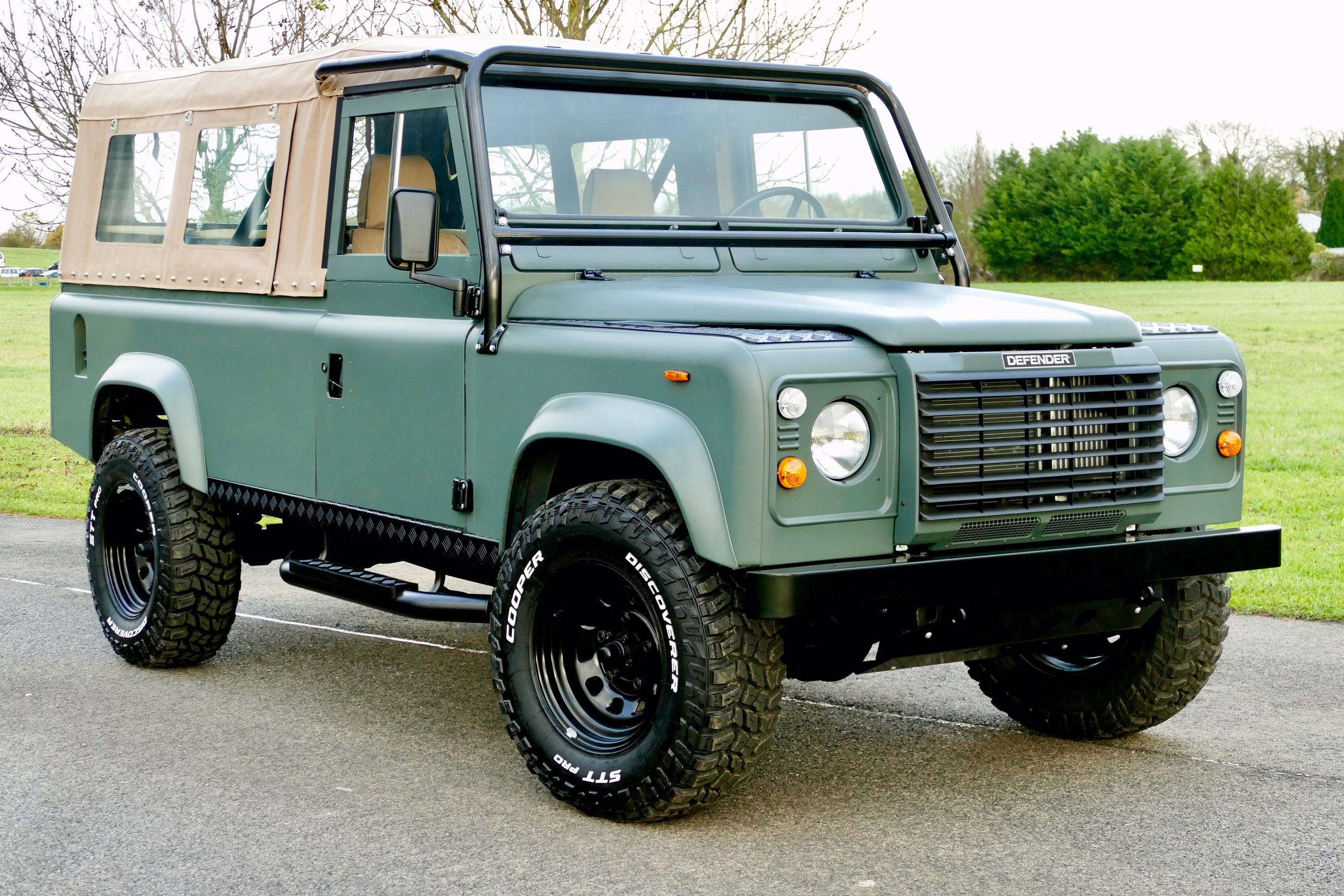 Land Rover Defender 110 Lhd Bespoke Soft Top Usa Exportable