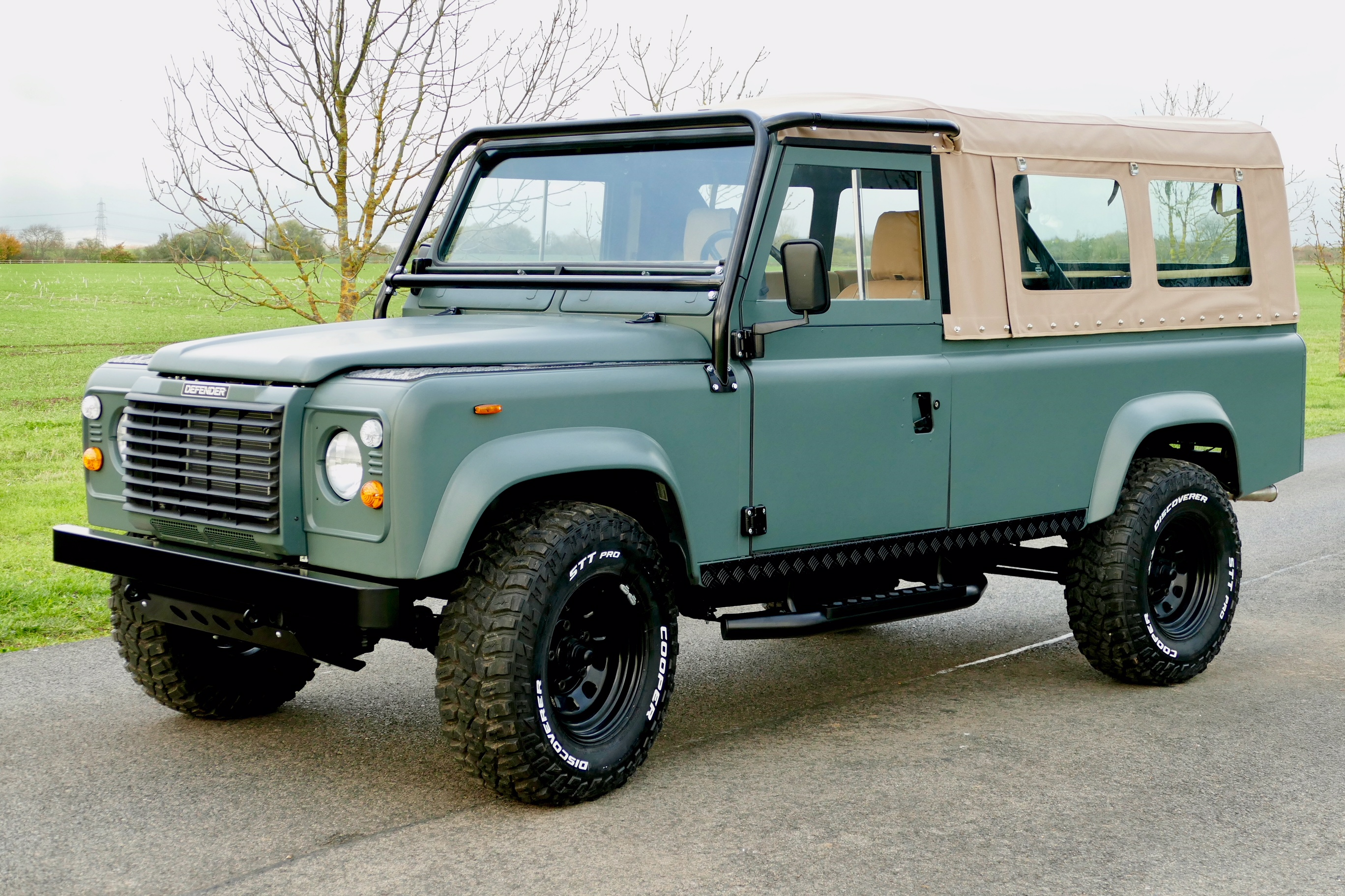 Land Rover Defender 110 LHD Bespoke Soft Top USA Exportable - | Land