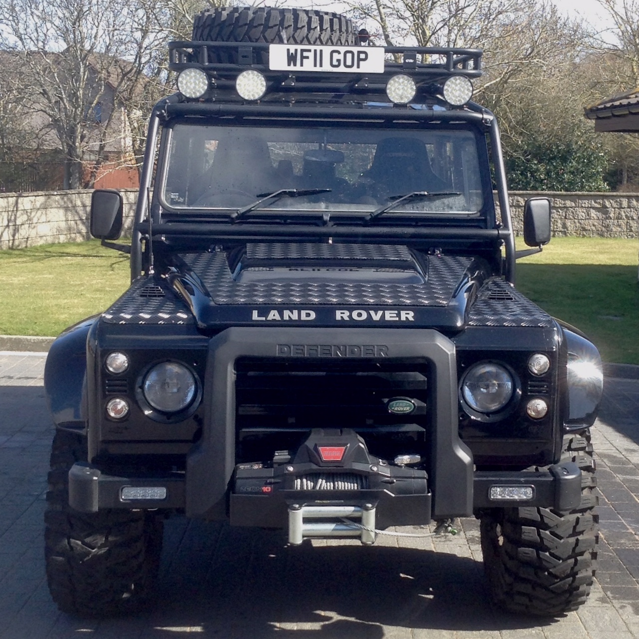 Land Rover Defender Clutch Slipping Car Tdci Bond Effect Edition Double Cab Pick Up
