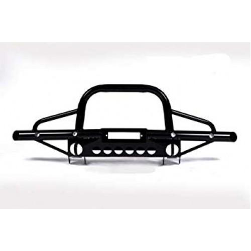 Defender Tubular winch bumper with A-bar (AC)