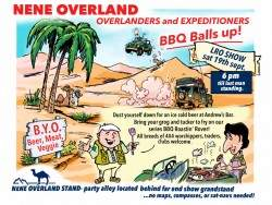 , Come and Join Nene Overland for a BBQ at the 2015 Peterborough LRO Show