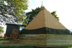 glamping tipi, Nene overland launches Garden Tipi initiative for those wanting a Glamping experience or year-round hideaway in their own garden