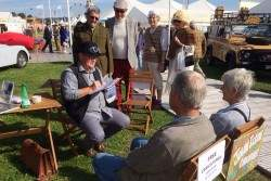 goodwood revival, Visit Nene Overland at the Goodwood Revival