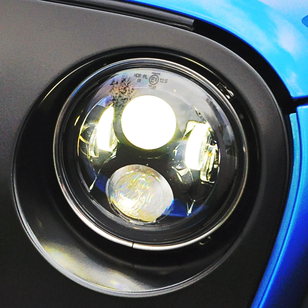 Wild LED headlights