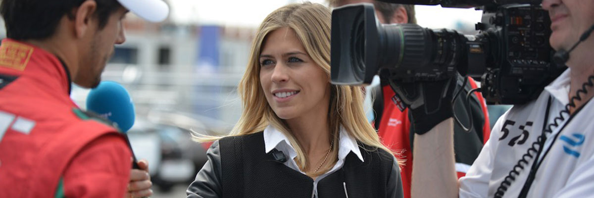 Formula E presenter Nicki Shields will be MC for the day